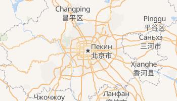Пекин - детальная карта