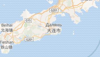 Далянь - детальная карта