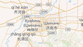 Цзинан - детальная карта