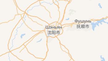 Шэньян - детальная карта
