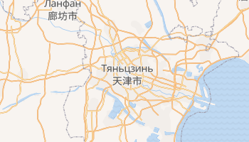 Тяньцзинь - детальная карта
