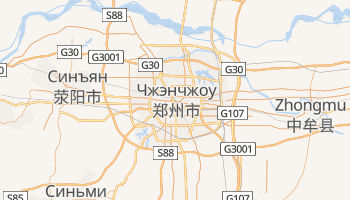 Чженчжоу - детальная карта