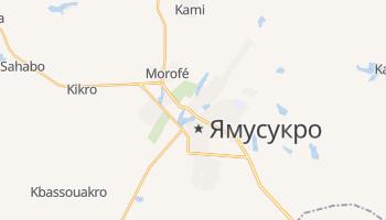 Ямусукро - детальная карта