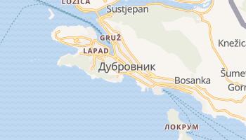 Дубровник - детальная карта
