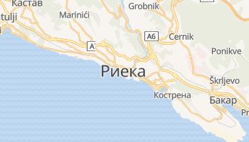 Риека - детальная карта
