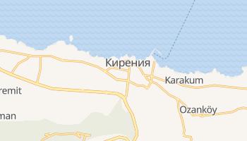 Кирения - детальная карта