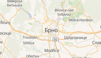 Брно - детальная карта