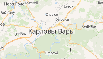 Карловы Вары - детальная карта