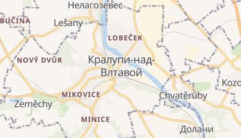 Кралупи-над-Влтавоу - детальная карта