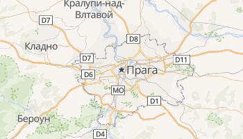Прага - детальная карта