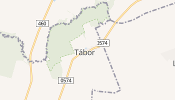 Табор - детальная карта