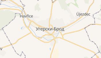 Угерски-Брод - детальная карта