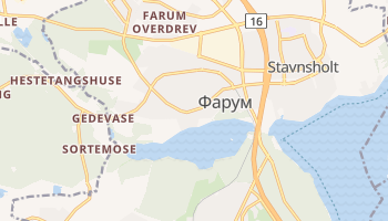 Фарум - детальная карта