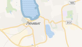 Лемвиг - детальная карта