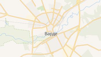 Варде - детальная карта