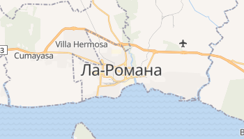 Ла-Романа - детальная карта