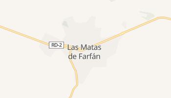 Лас-Матас-де-Фарфан - детальная карта