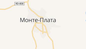 Монте Плата - детальная карта