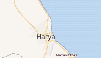 Нагуа - детальная карта