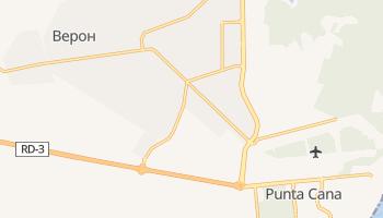 Пунта Кана - детальная карта