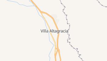 Вилья-Альтаграсия - детальная карта