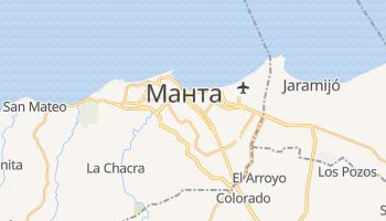Манта - детальная карта