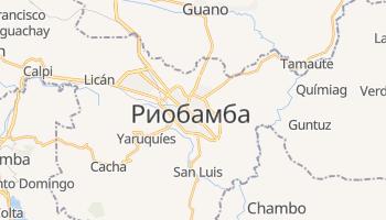 Риобамба - детальная карта