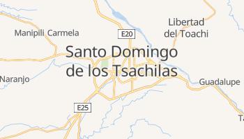 Санто-Доминго-де-лос-Колорадос - детальная карта