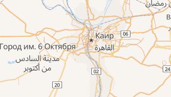 Гиза - детальная карта
