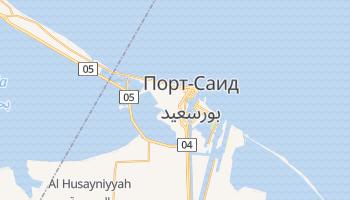 Порт-Саид - детальная карта