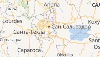 Сан Сальвадор - детальная карта