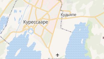 Курессааре - детальная карта