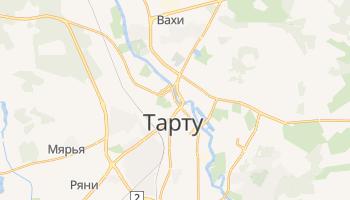 Тарту - детальная карта