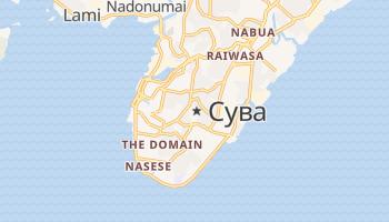 Сува - детальная карта