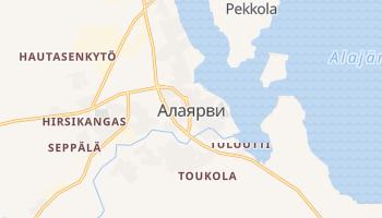 Алаярви - детальная карта