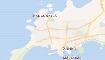 Ханко - детальная карта