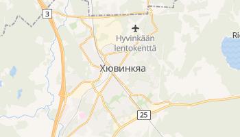 Хювинкяа - детальная карта