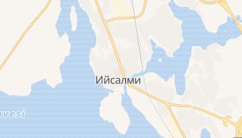 Ийсалми - детальная карта