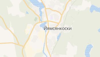 Йямсянкоски - детальная карта