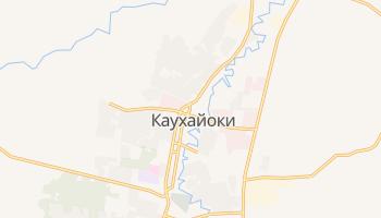 Каухайоки - детальная карта