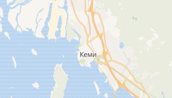 Кеми - детальная карта