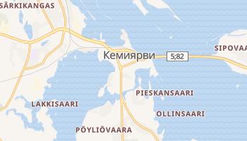 Кемиярви - детальная карта