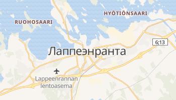 Лаппеэнранта - детальная карта