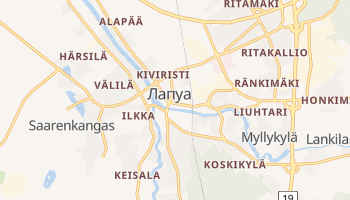 Лапуа - детальная карта