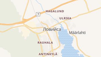 Ловийса - детальная карта