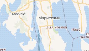 Мариехамн - детальная карта