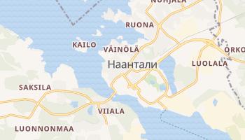Наантали - детальная карта