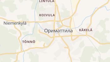 Ориматтила - детальная карта