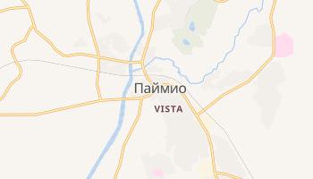 Паймио - детальная карта