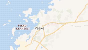Раахе - детальная карта